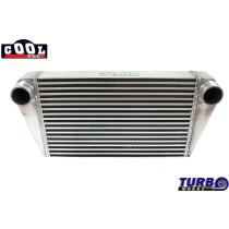 Intercooler TurboWorks 500x300x76 hátsó kivezetéssel